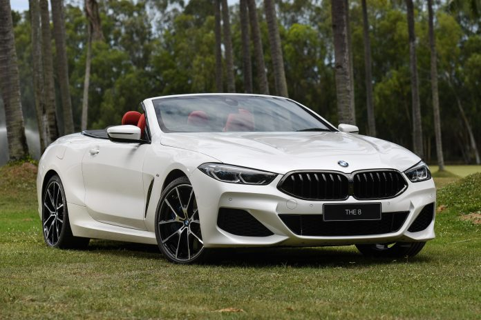 BMW M850i xDrive Convertible 2019