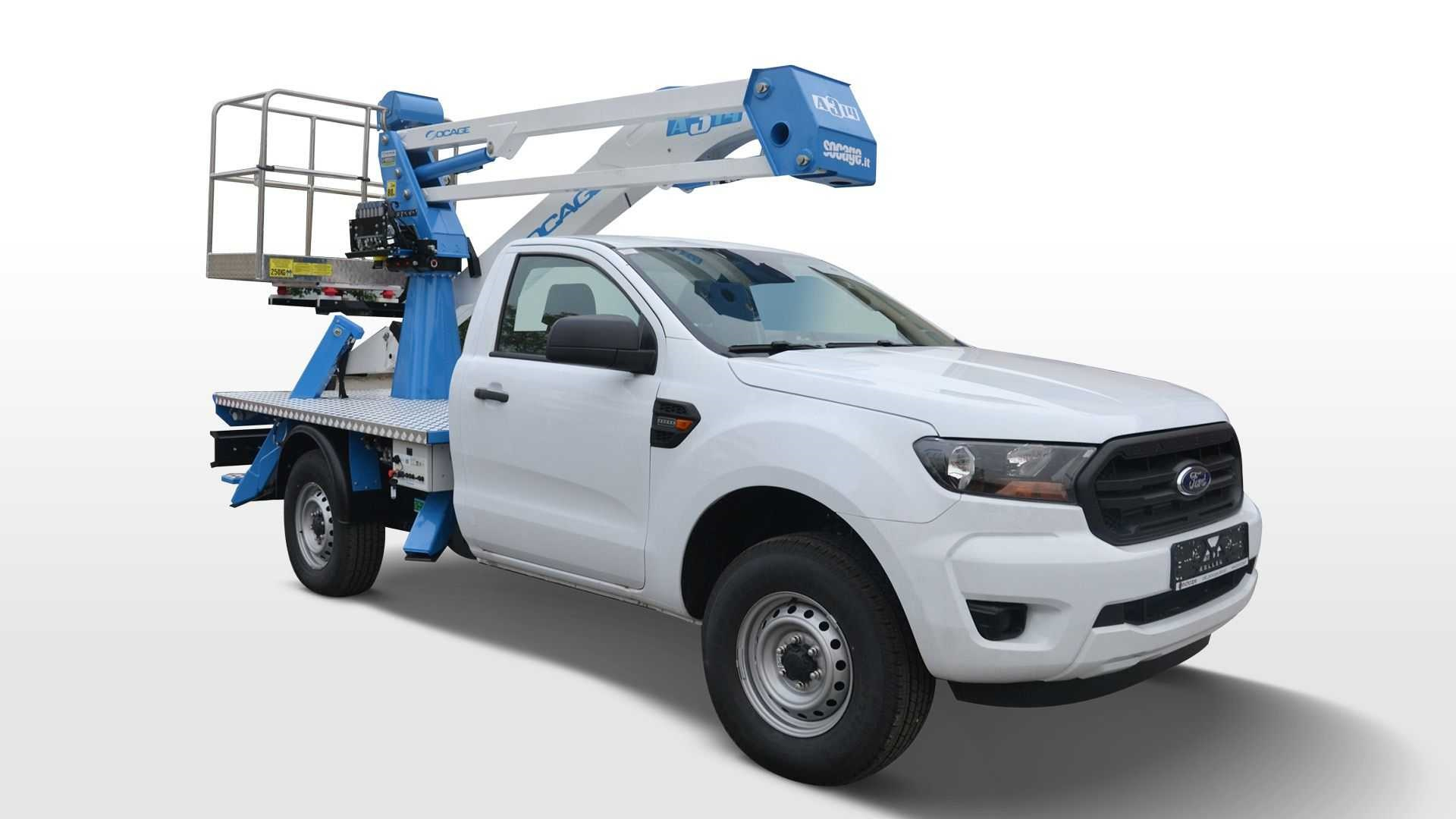 2021 Ford Ranger Chassis Cab