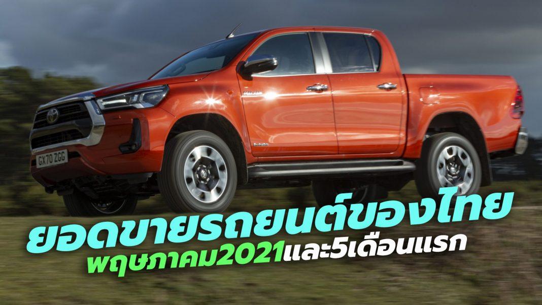 Thailand Car sales 2021