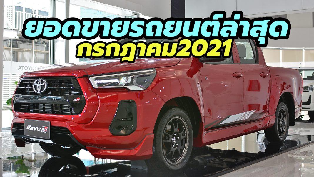 2021 Thailand car sales