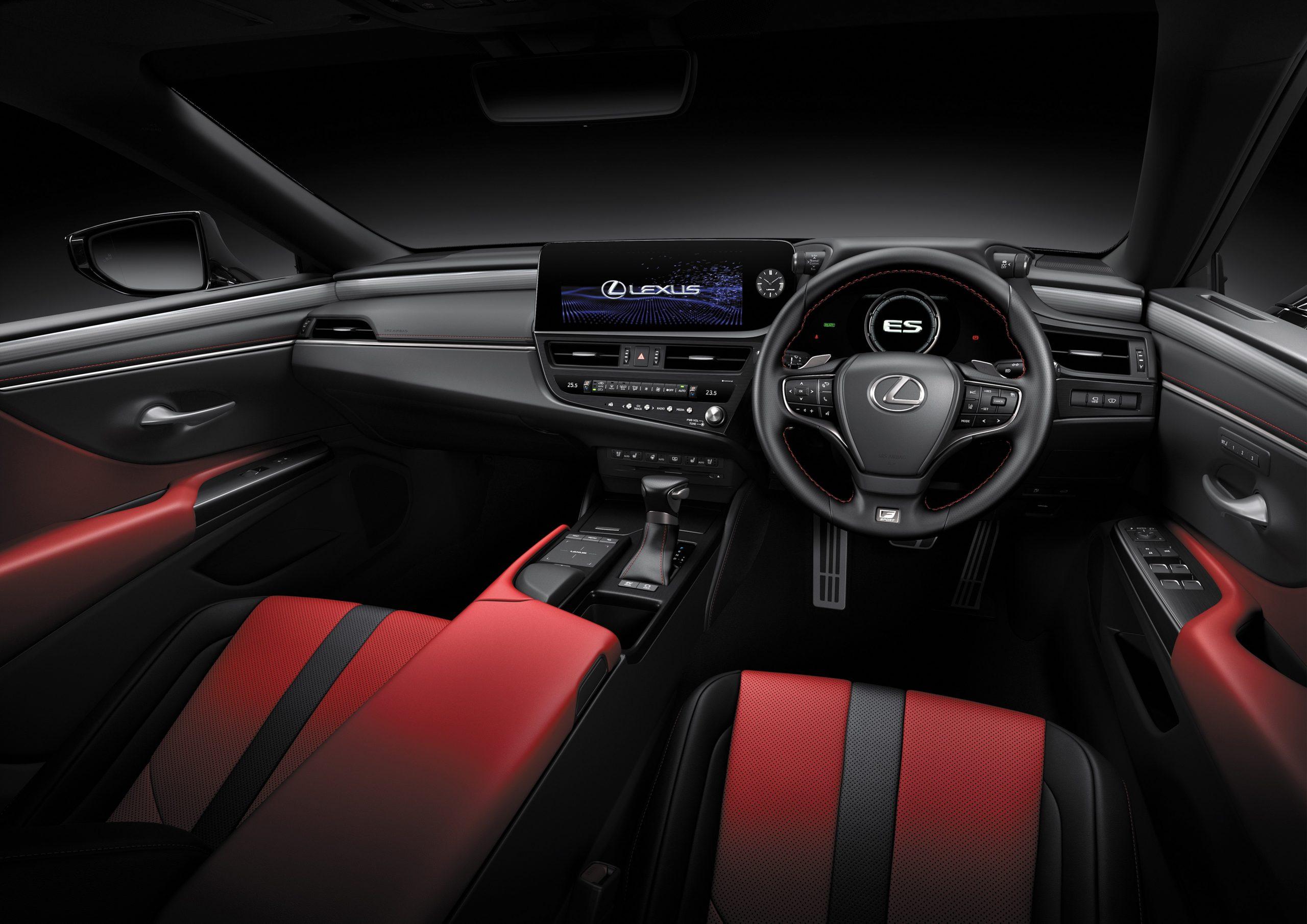 2022 Lexus 300h F Sport